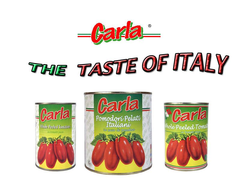 Whole Peeled Tomatoes in Tomato sauce Italy Made in Italy