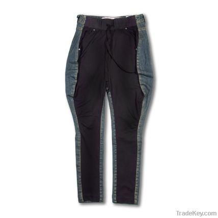 girls jacket, jeans