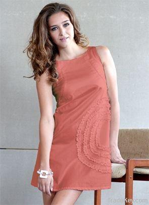 Nursing Luxe Cotton Shift Dress