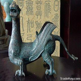 bronze antique Mythological Animal