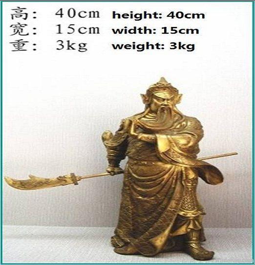 bronze craft Guan Gong