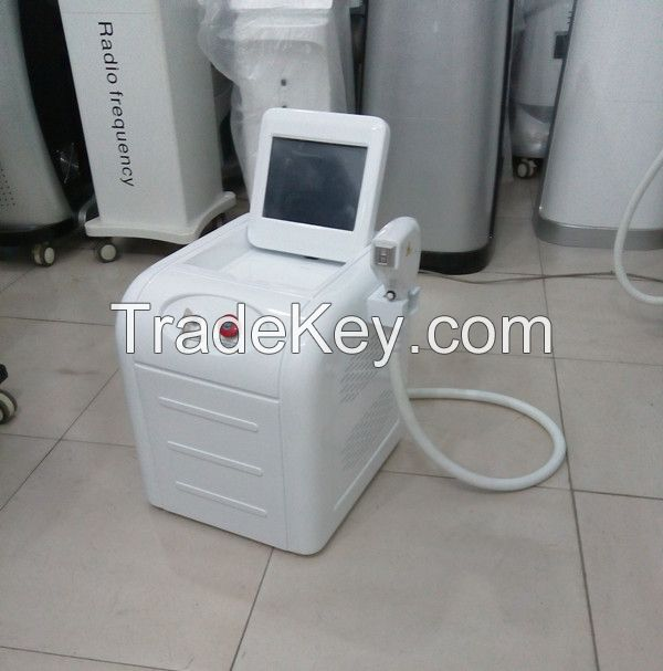 Portable 808nm diode laser hair removal/diode laser depilation/permanent hair removal machine