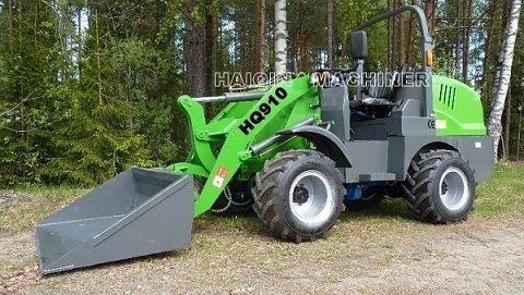 Mini loader HQ910 with CE, Euro III engine .