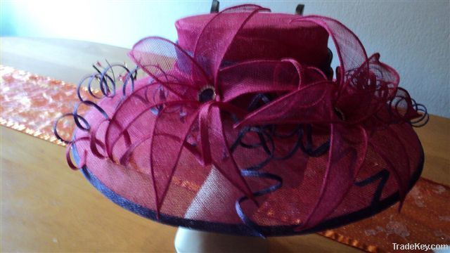 ladies sinamay church hats By Incrediblehats 43e70083be1