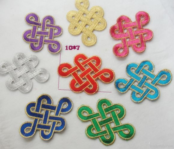 providing competitive price embroidery patch/badge, iron on patch