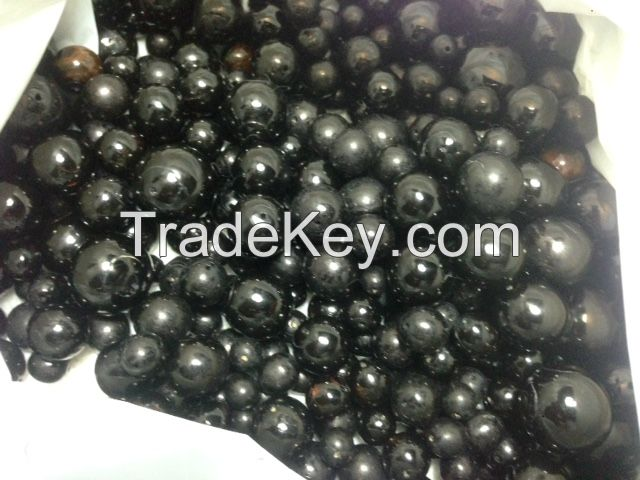 Black Coral Beads