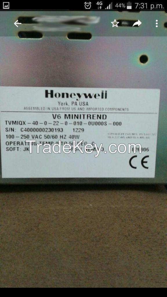 Honeywell paperless chart recorder