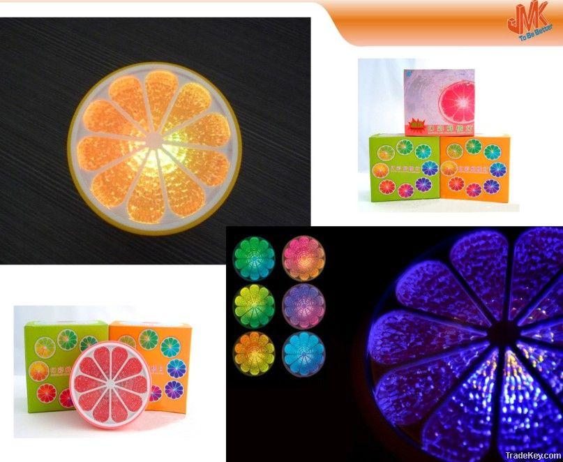 Colorful orange light , floating LED Lamp, Waterproof lamp
