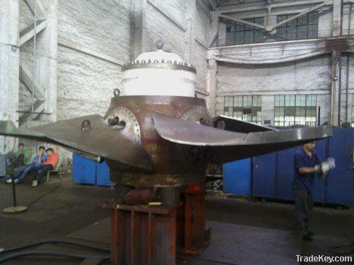 Francis turbine generator unit