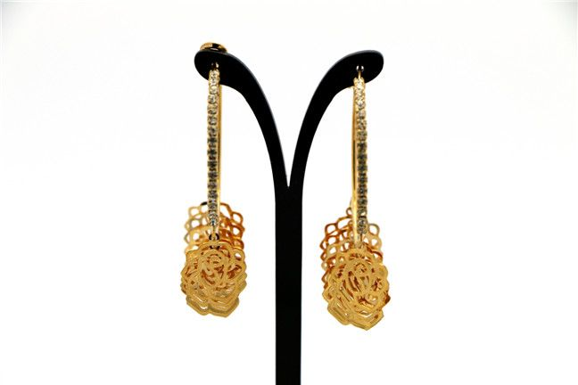 Latest Hoop Earring Earrings for Women in Competitive Price