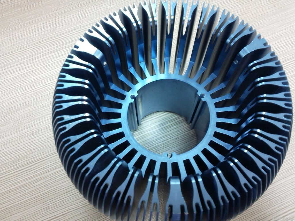 Anodized Aluminum Heatsink for LED CPU