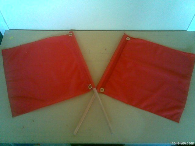 Red Cloth Safety Flag