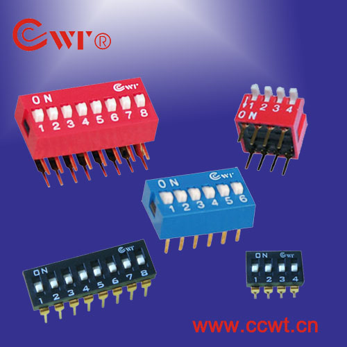 DIP Switch,SMT Switch,Digital Switch,Toggle Switches;Thumbwheel switch