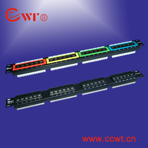 cat5e patch panel, distribution frame, wiring block, terminal blcok
