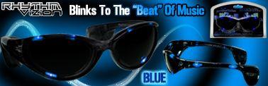 Rhythm Vizion Sound Activated Sunglasses