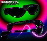 Multi Color Rhythm Vizion Sound Activated Sunglasses