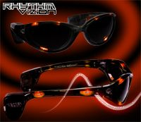 ORANGE Rhythm Vizion Sound Activated Sunglasses