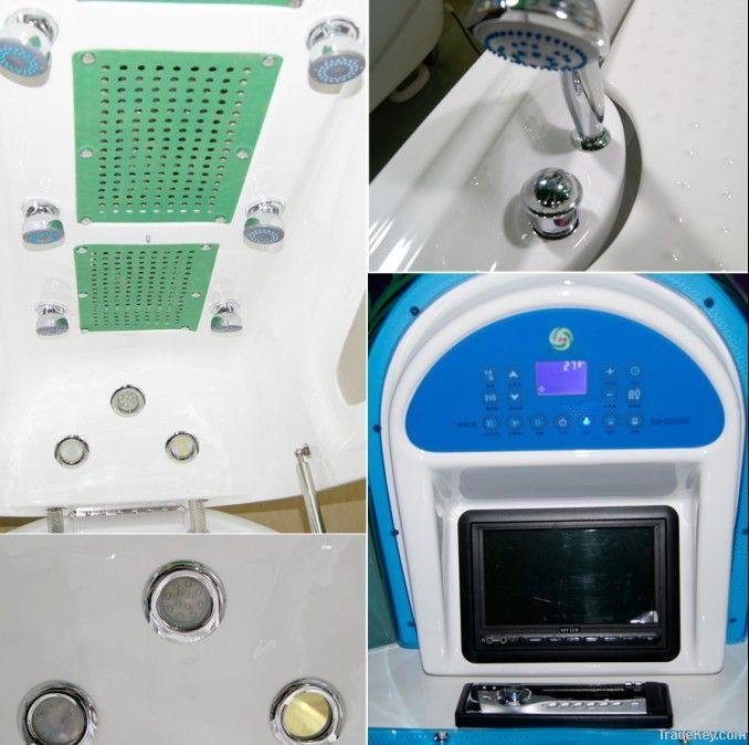Far Infrared DVD MP3 Beauty Spa Capsule ASD-B2009 / White