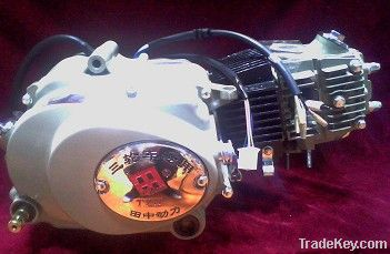 50-250cc engine with kick/electric start, manual/automatic clutch