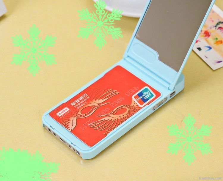 2013 new release multi-function mobile phone case with mirror