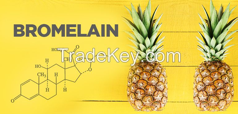 High Quality and Natural Pineapple Extract Enzyme Bromelain for sale