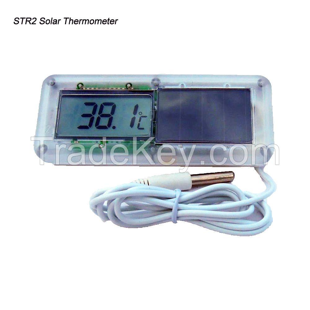 MiNi Digital solar thermometer