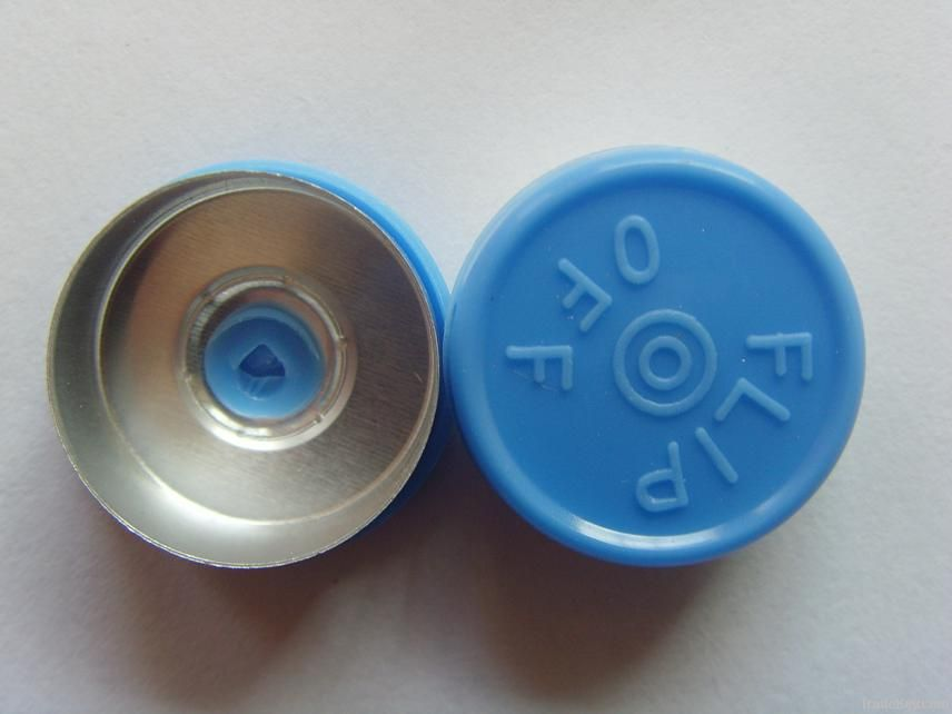 flip off caps for antibiotics, injection, infusion, contact lens, cosmetic