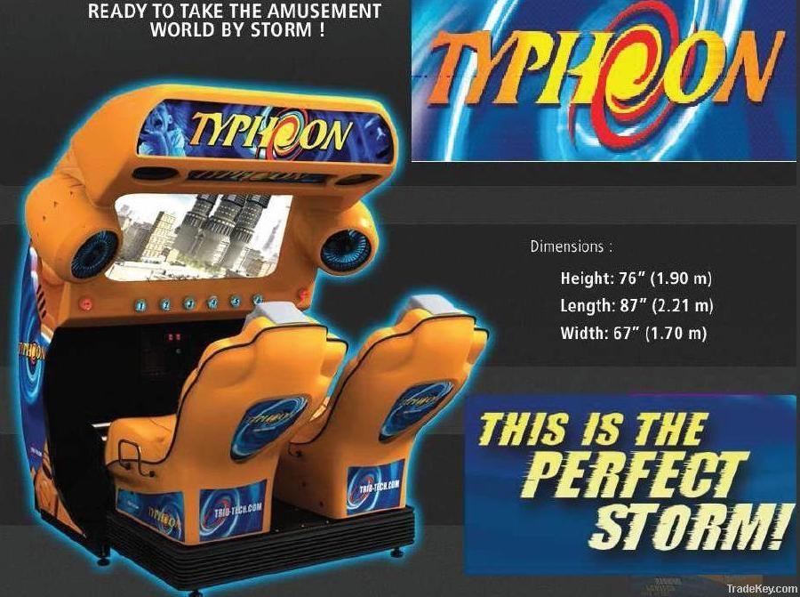 Movie simulator TYPHOON