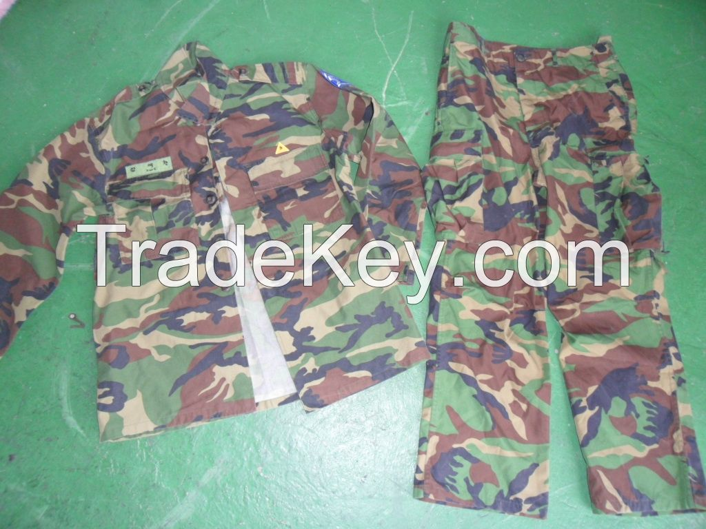 Ssed Military Uniform from Korea