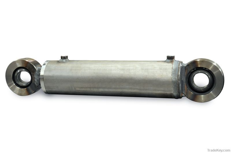 Cylinders for snow blades