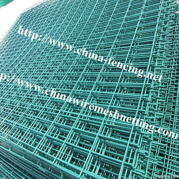 Bilateral wire fence for road