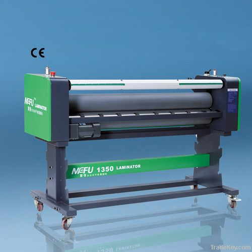 Heat assist Flatbed laminator