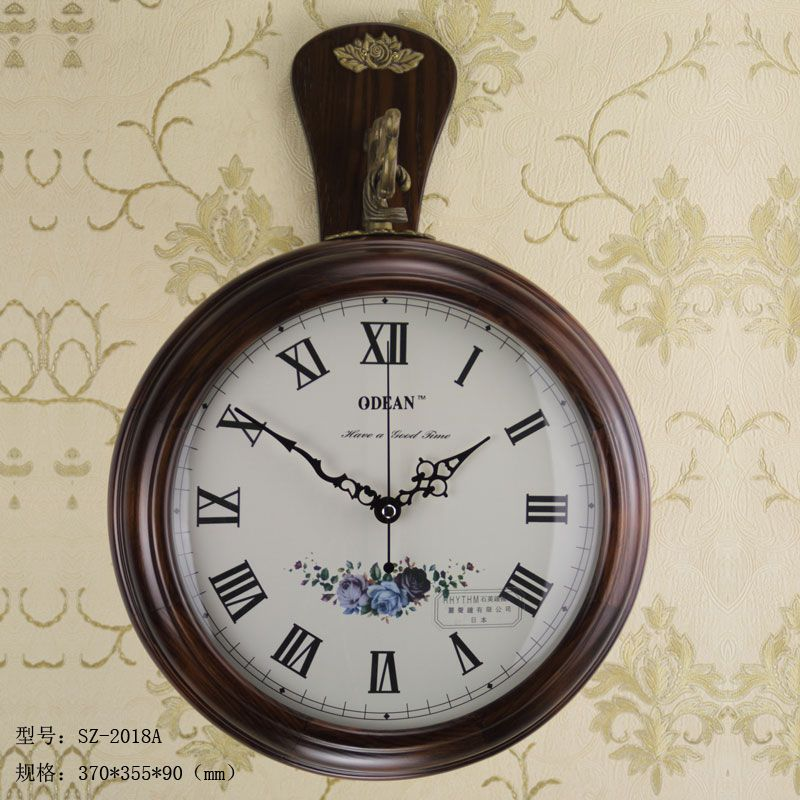 Antique Clock, wall clock with double-sided,