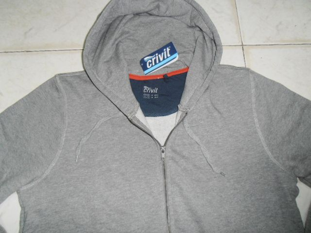MEN'S FULL ZIPPER HOODED SWEATSHIRT