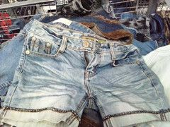 Used Jeans Short Pant