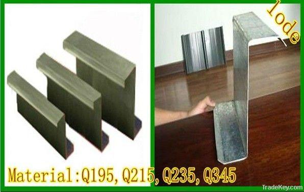 Quality Z Channel(Q195/Q215/Q235/Q345) steel
