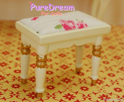 Dollhouse miniature Bedroom Victorian Furniture Wardrobe 6pc WB008