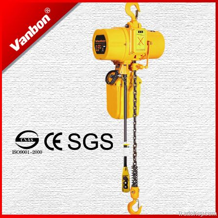Vanbon Electric Chain Hoist 0.5t with electric trolley