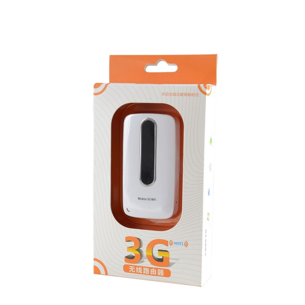WCDMA/GSM 3G 21Mbps Mi-Fi Router with 3000mAh Power Bank, Compatible with 802.11b/g/n