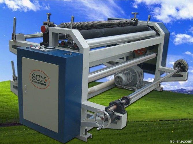 non woven fabric slitting splitting cutting machine