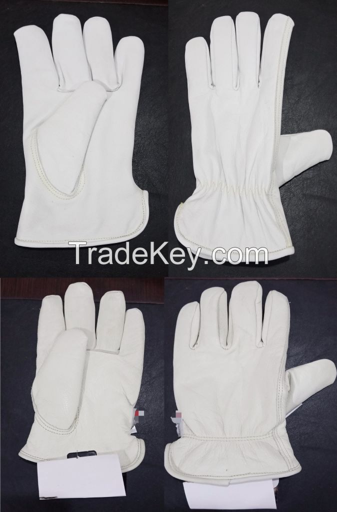 JBS Leather Safety Gloves
