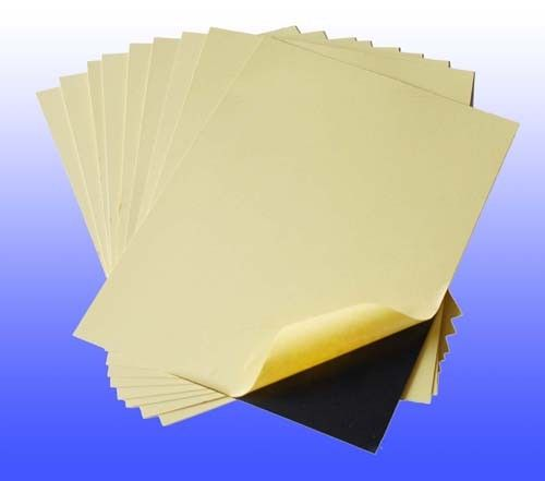 Self-adhesive PVC inside page of photo album