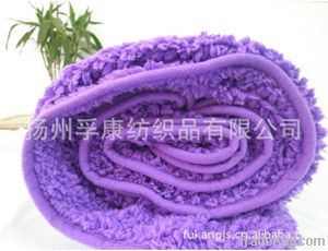 Polyester knitted blanket