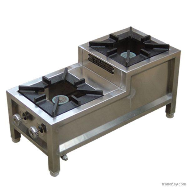 two burner mini range