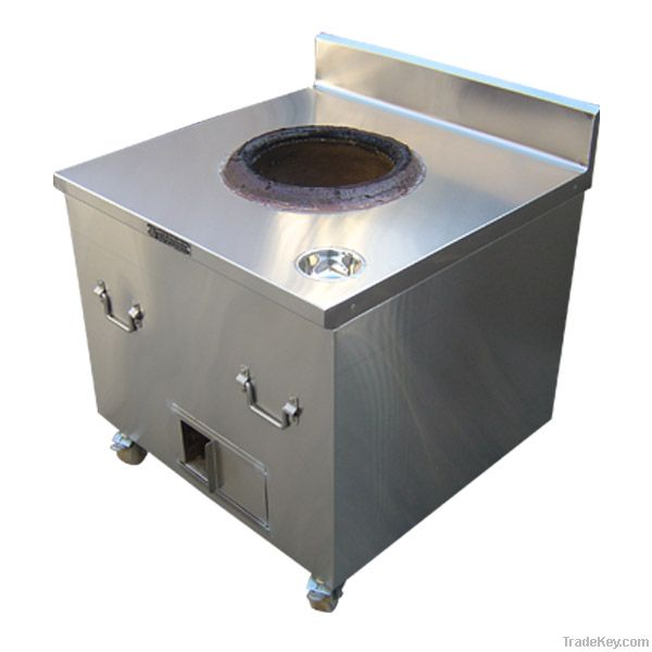 tandoor coal or gas