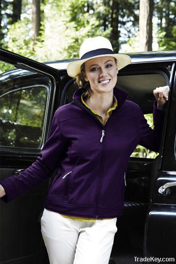 Ladies Matrix Soft Shell Bonded Water Resistant Breathable Jacket