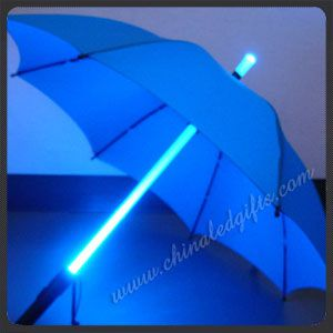 flashing umbrella
