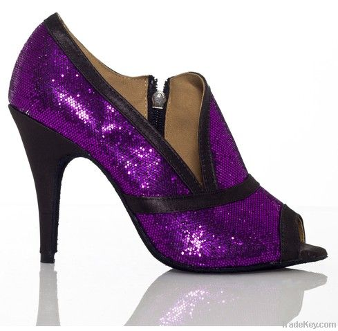2012 Popular Glitter latin shoes ballroom shoes