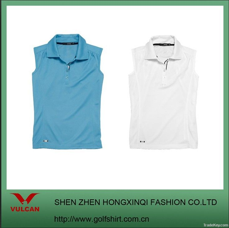 DRY FIT Ladies sleeveless sport shirts