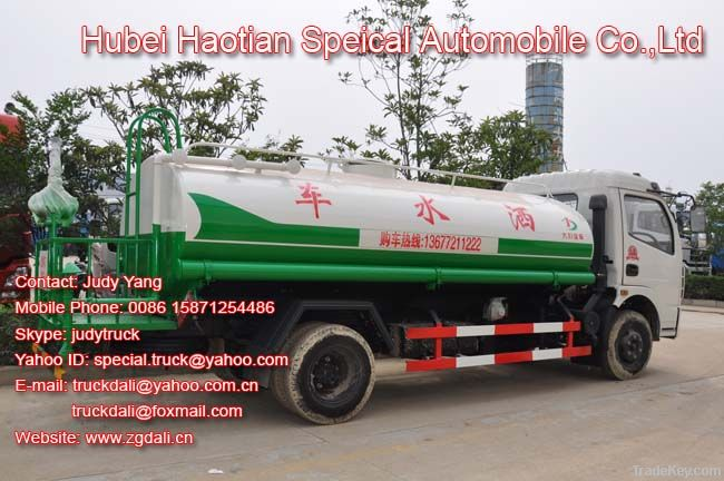 Dongfeng EQ1090 6000L Water tank truck